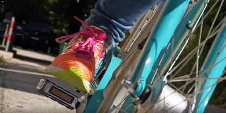 Beim Radeln gewinnen